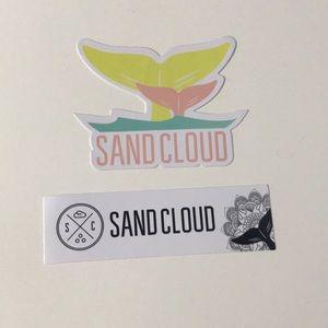 sand cloud sticker and vsco bracelet bundle